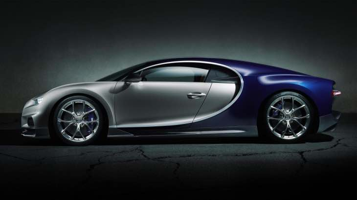 Bugatti Chiron performance figures