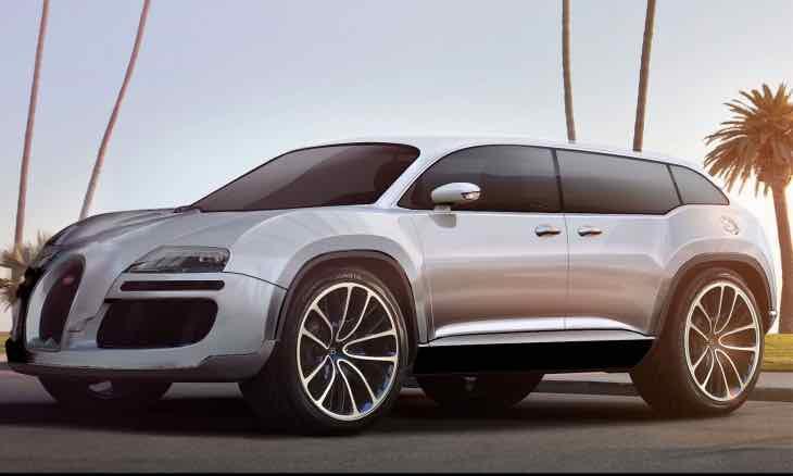 Bugatti SUV desire