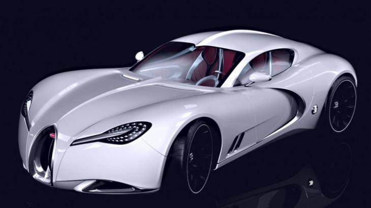 Bugatti Veyron successor concepts