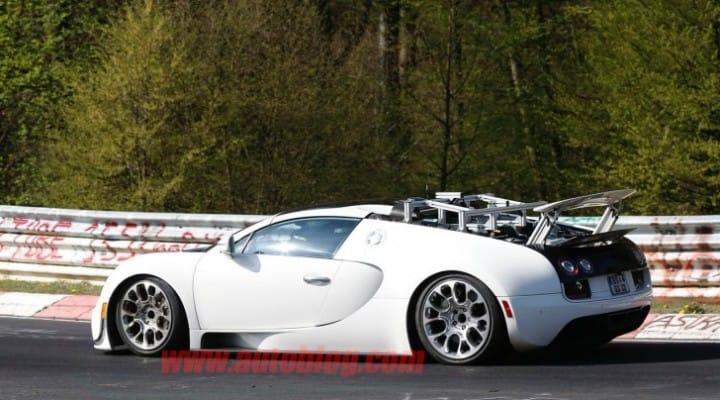 Bugatti Veyron successor getting closer