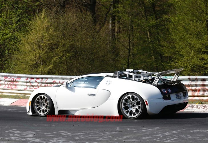 Bugatti Veyron successor getting closer