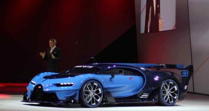Bugatti Vision Gran Turismo Vs Porsche Mission E exhilaration