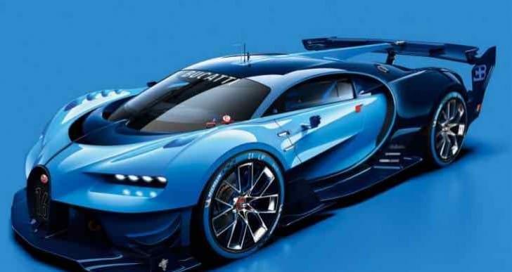 Bugatti Vision Gran Turismo teases Chiron design