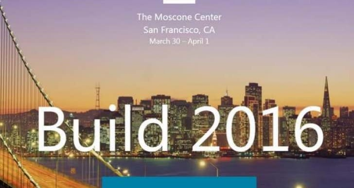Build 2016 live stream, Windows 10 anniversary update