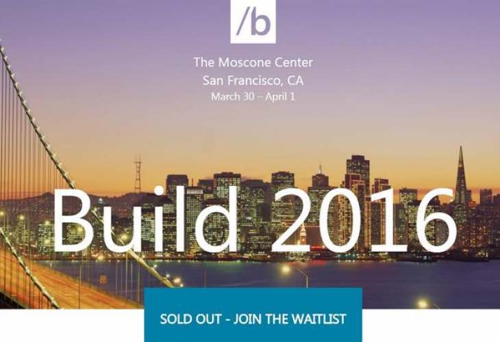 Build 2016 live stream