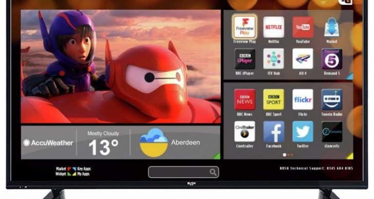 Bush 49-inch FHD Smart TV gains positive Argos user reviews