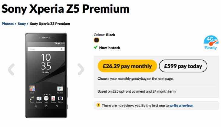 Buy Sony Xperia Z5 Premium