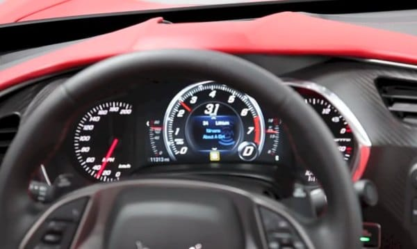 C7 Corvette Stingray's amazing instrument cluster tour