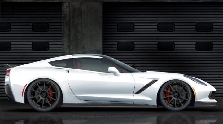 C7 Corvette specs bump with Pagani Huayra performance