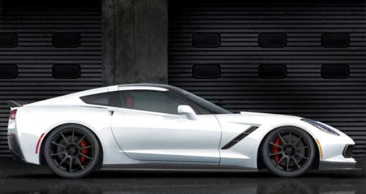 C7 Corvette specs bump with Pagani Huayra performance