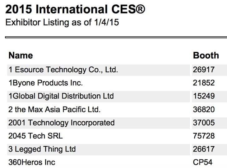 CES-2015-full-list-of-exhibitors-PDF