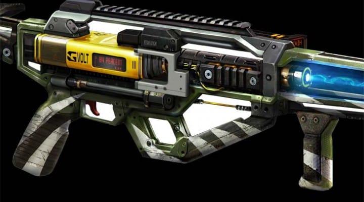 COD: Advanced Warfare AE4 assault rifle in DLC 1 early