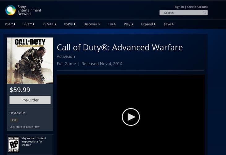 COD-Advanced-Warfare-PS4-pre-load