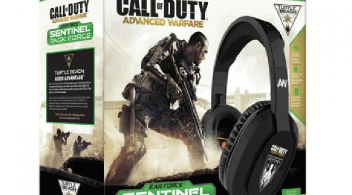 COD: Advanced Warfare Turtle Beach headset for PS4, XB1
