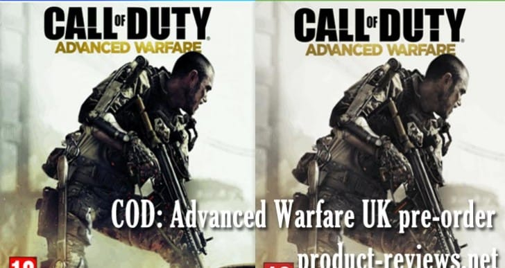 COD: Advanced Warfare UK pre-order on PS4, Xbox One