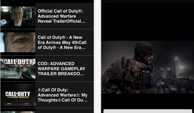 New COD Advanced Warfare countdown app