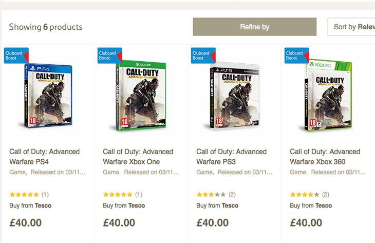 COD-Advanced-Warfare-price-tesco