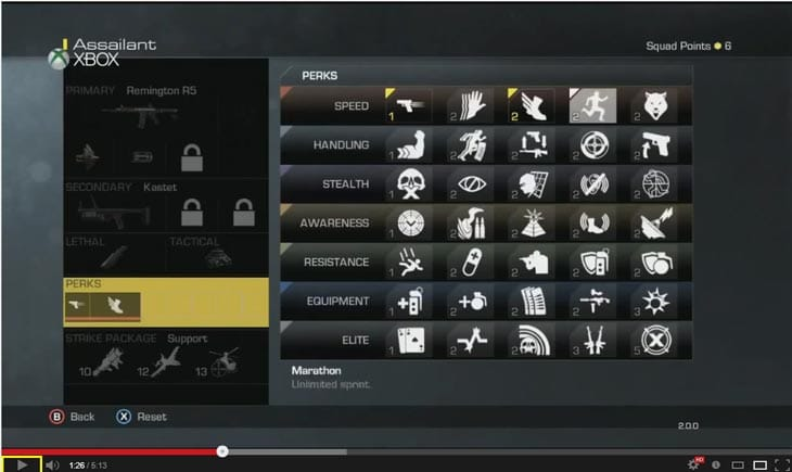 COD: Ghosts Perks split gamers over Marathon Pro