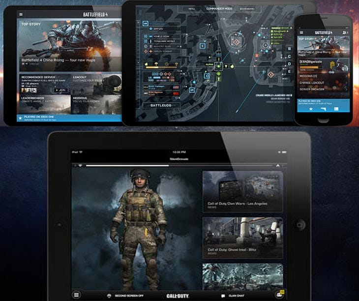 COD: Ghosts app vs. Battlefield 4 companion