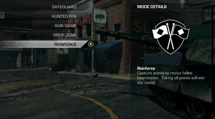 COD: Ghosts new Reinforce mode gameplay