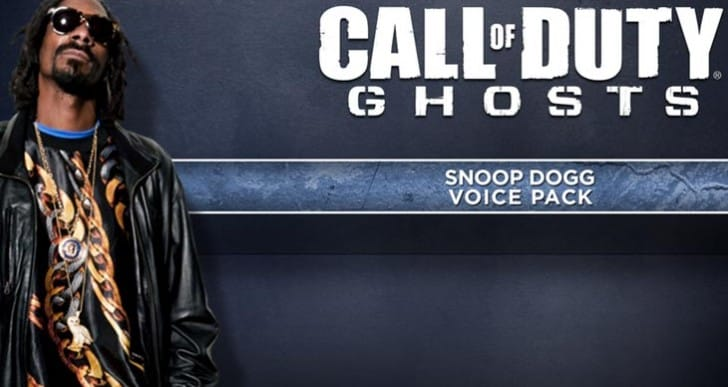 COD: Ghosts voice DLC live on PS4, PS3