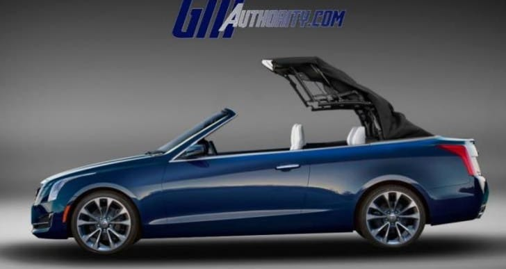 Possible Cadillac CTS, ATS convertible in new lineup
