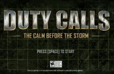 Call Of Duty Game Clip: Parody Duty Calls Is Hilarious ...