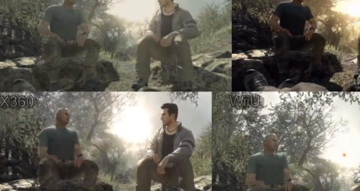 Call of Duty Ghosts Wii U graphics analyzed vs rivals