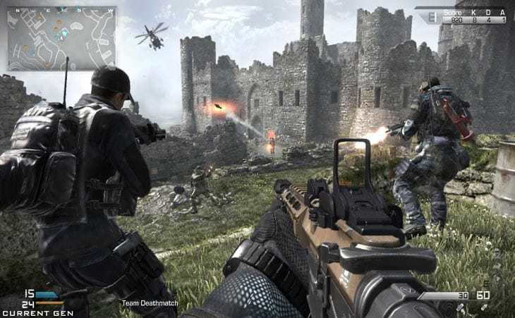 CoD Ghosts Xbox One update lowers quality