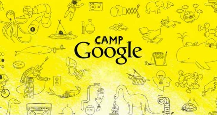 Camp Google 2015 themes during holiday's