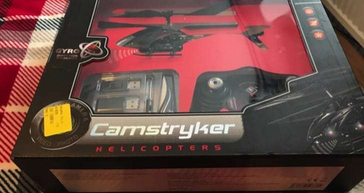 Camstryker RC helicopter review with camera – last minute Christmas gift