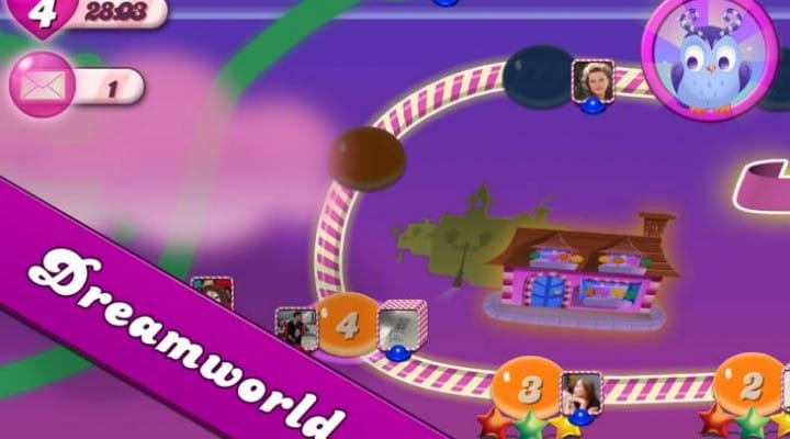 Candy Crush Saga update, connection problems persist