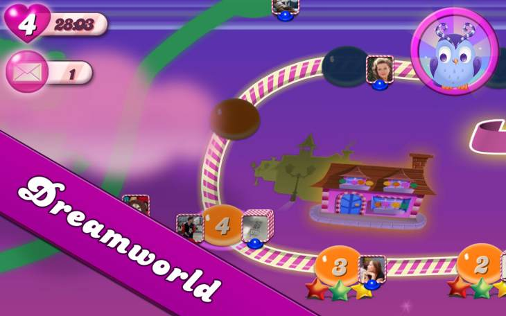 Candy Crush Saga update, connection problems