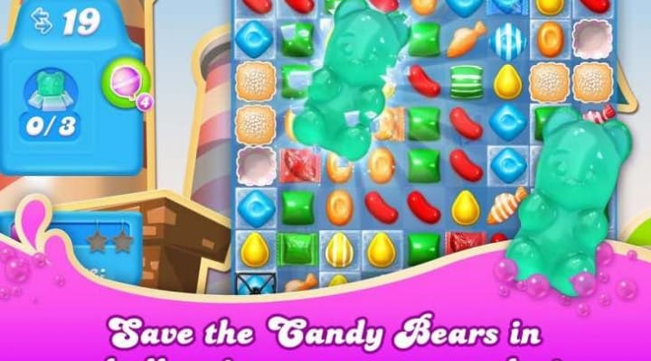 Candy Crush Soda levels 181 to 195 gameplay