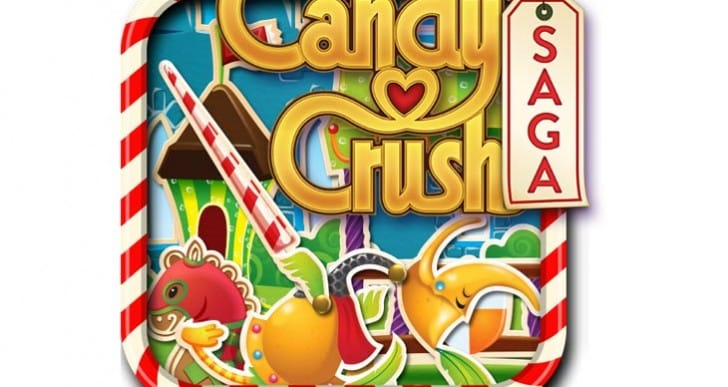 Candy Crush World 8 levels after 650 on iPhone