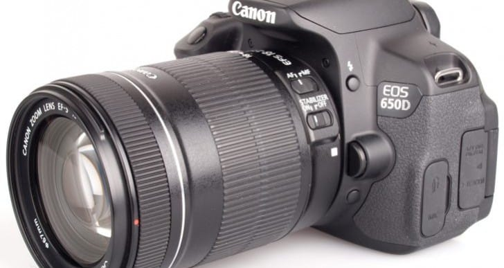 Canon 650D lenses for those loyal to the brand
