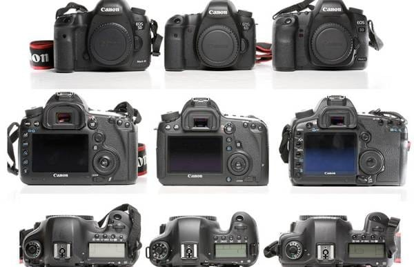 Canon 6D vs. 5D Mark III and 6D i