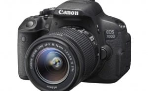Canon 700D has respectable price in India