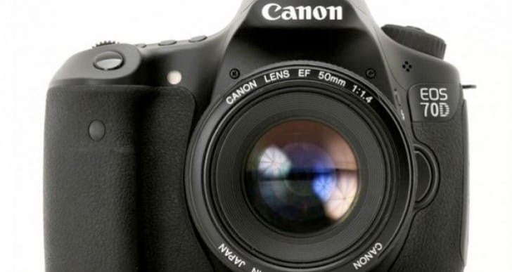 Canon 70D unveil date following Nikon D7100 release