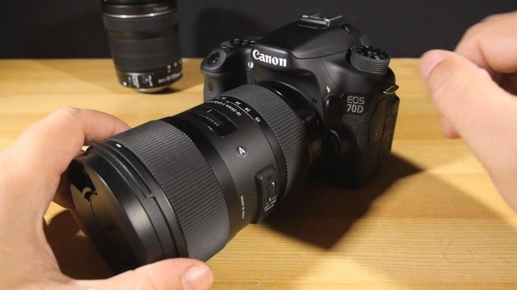 Canon 70D video quality test with Sigma lens