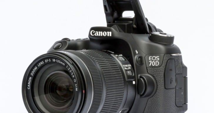 Canon 70D video test details focus features