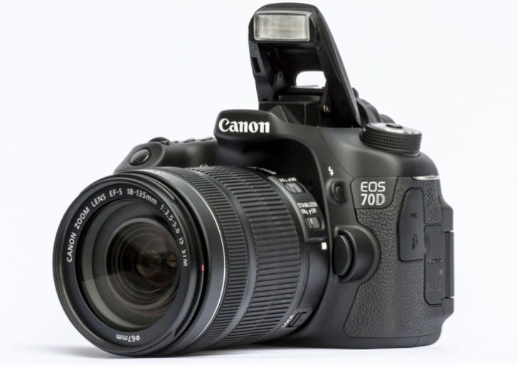 Canon 70D video test details focus features