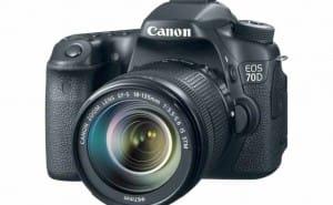 Canon 70D vs. 60D and Nikon D7100 – Comparing specs