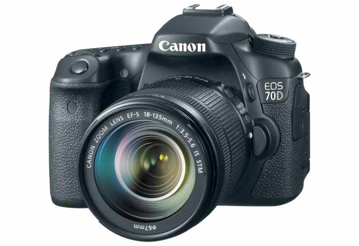 Canon 70D vs Nikon D7100 and 60D – Comparing specs