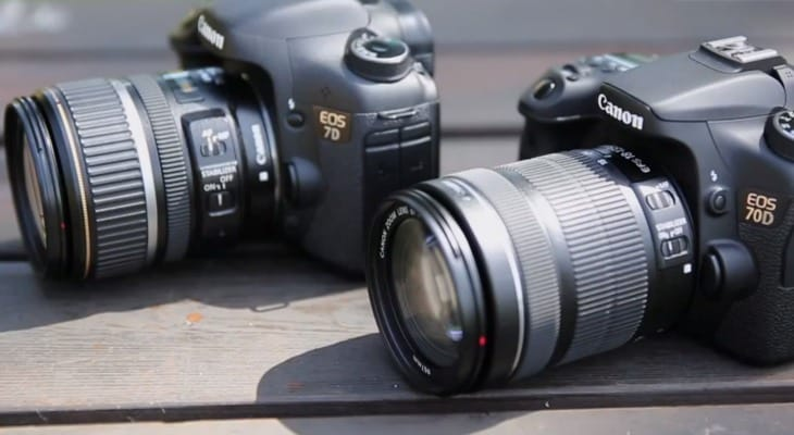 Canon 70D vs. 7D, persuasion continues