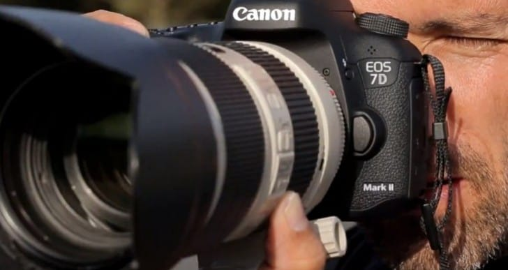 Canon 7D Mark II video review quartet with sample images