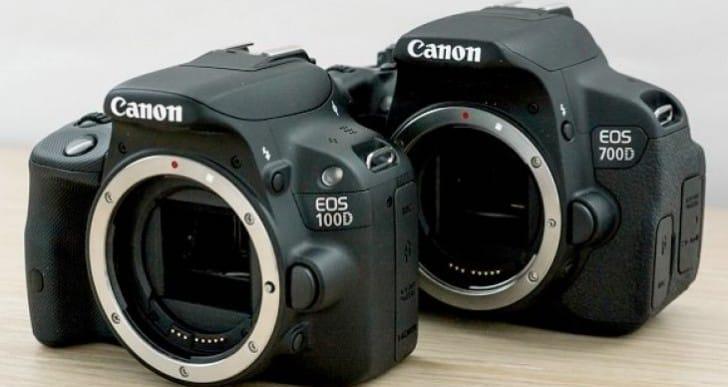 Canon EOS 100D vs. 700D – Features comparison