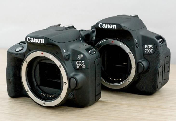 Canon EOS 100D vs. 700D – Features comparison
