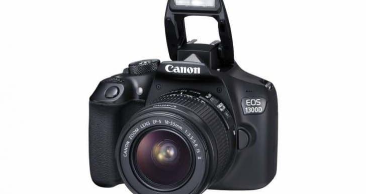 Canon EOS 1300D Vs 600D comparison specs review