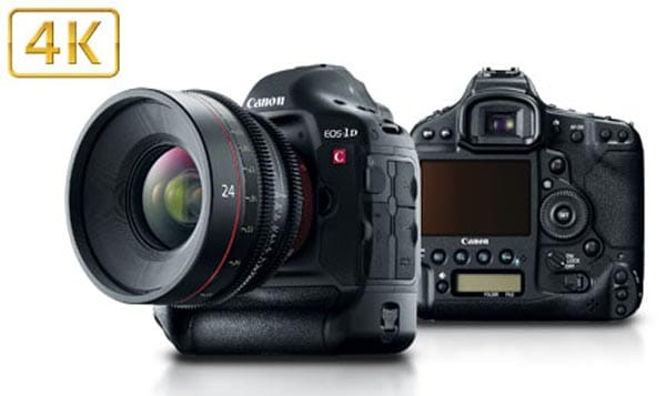 Canon EOS-1D C 4K camera presented with video samples